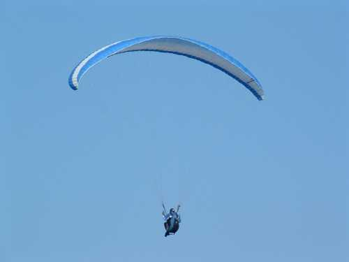 local paraglider